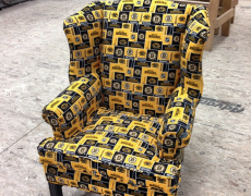 """Turning a Classic Heirloom Into a """"Hockey Chair"""""""